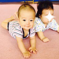 高齢ママに贈る子育て日記【10】|集まれ5ヶ月の赤ちゃん in児童館