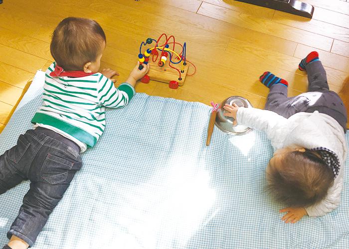 11ヶ月の2人の赤ちゃん|不妊治療HP