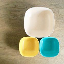 高齢ママに贈る子育て日記【23】|離乳食用の食器は地球に優しい「BIOBU」に決まり!