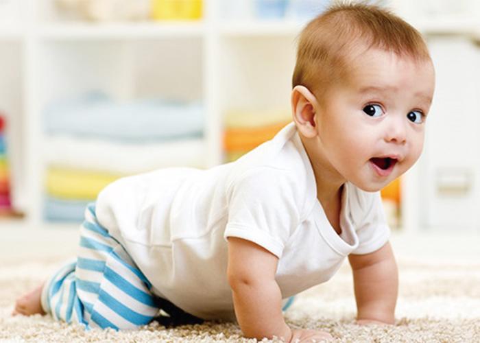 ハイハイしている赤ちゃん|不妊治療HP