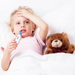 赤ちゃんや子供がかかる病気【2】|発熱
