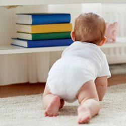 「ハイハイ」を沢山した赤ちゃんは将来賢くなる?!